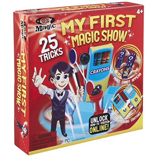 Ideal My First Magic Set (Magic Tricks Easy Toy)