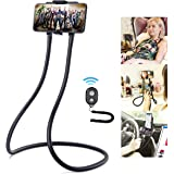 Upgrade Phone Holder for Bed, B-Land Neck Phone Holder Gooseneck Cell Phone Holders, Universal Mobile Phone Stand with…