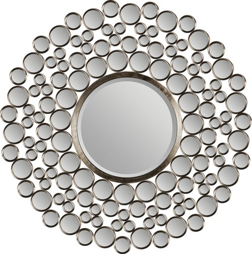Christopher Knight Home 295474 Coyle Round Curved Mirror,