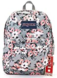 Jansport Digibreak Backpack (coral sparkle pretty posey)