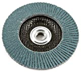 Forney 71932 Flap Disc, Type 29 Blue Zirconia with