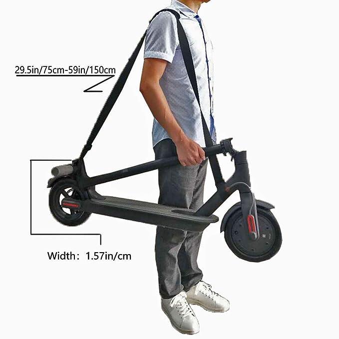 Amazon.com: XJunion Correa de hombro ajustable para patinete ...