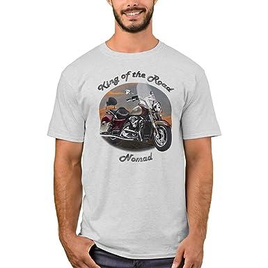 Amazon Com Zazzle Men S Basic T Shirt Kawasaki Nomad Tee Shirt