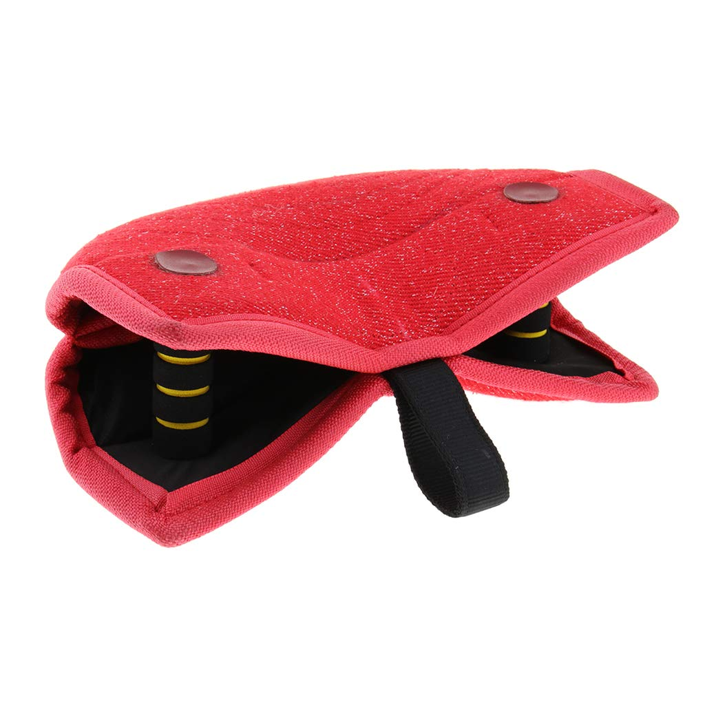 Red Baoblaze Dog Biting Pillow for Young Dogs Training for Both Left and Right Hand  Red