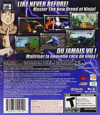 Namco Bandai Games Naruto Ultimate Ninja Storm, PS3 ...