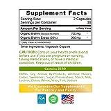 Bacopa Monnieri Capsules (Brahmi) -1000 mg