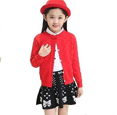 3e3aaef3c69a4 Honey baby 子供服 女の子 女児 ガールズ 長袖 ニット セーター カーディガン 上着 ニット コート 長袖