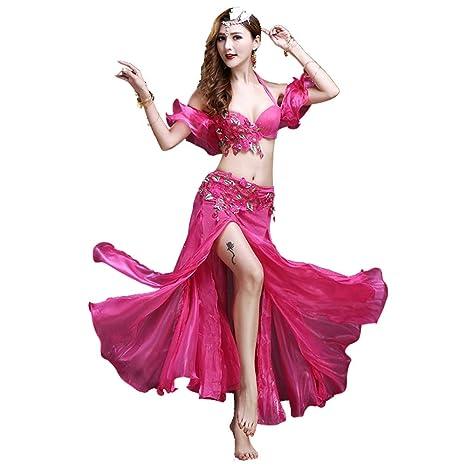 Disfraz de danza del vientre Conjunto de traje de danza del ...
