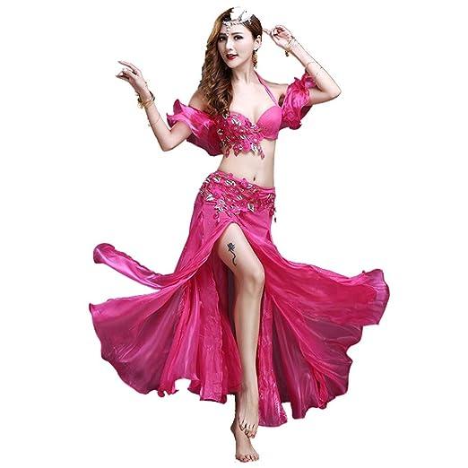 Falda de baile de las mujeres Conjunto de traje de danza del ...
