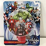 Marvel Avengers Night Light - Incredible Hulk, Captain America, Iron Man & Thor