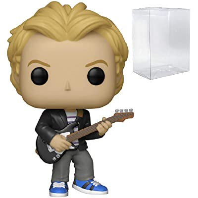 Funko Rocks: The Police - Sting Pop! Vinyl Figure (Includes Compatible Pop Box Protector Case): Toys & Games