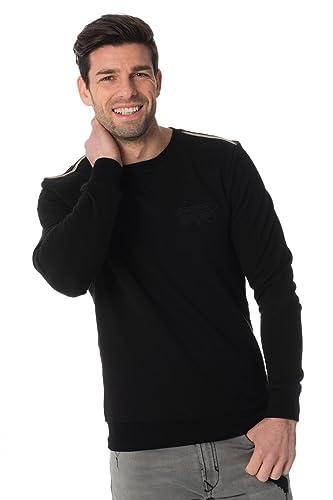 Pull Vêtements Accessoires Mmfl00390 Antony Et Col Morato Sweat Pour Homme Noir Shirt Rond T7vw7