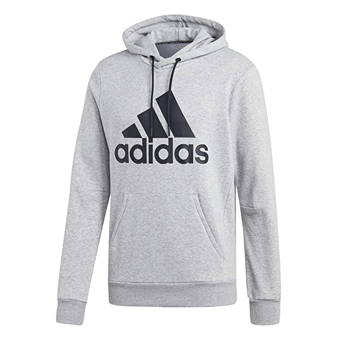 adidas Men's Must Have Badge Of Sport French Terry Hooded Sweatshirt