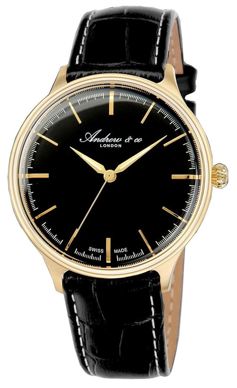 [アンドリューアンドコー]Andrew&co スイス製 腕時計 ウォッチ クラシック シンプル メンズ [並行輸入品] B01FDGIN40