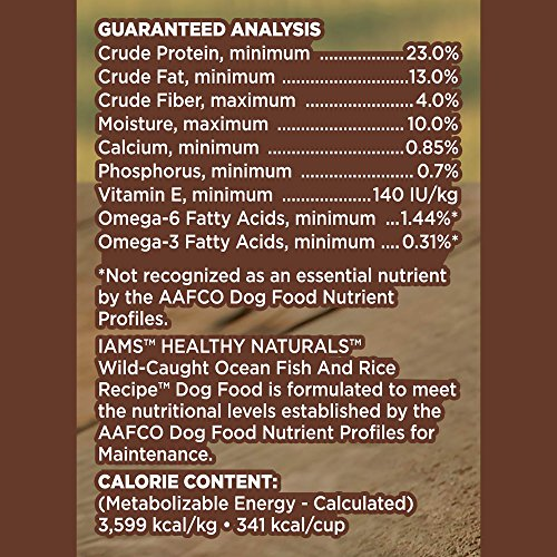 Iams Healthy Naturals Dry Dog Food