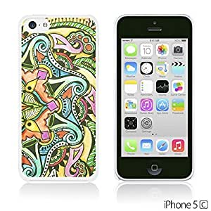OnlineBestDigital - Art Paintings Hardback Case for Apple iPhone 5C - Doodle Painting