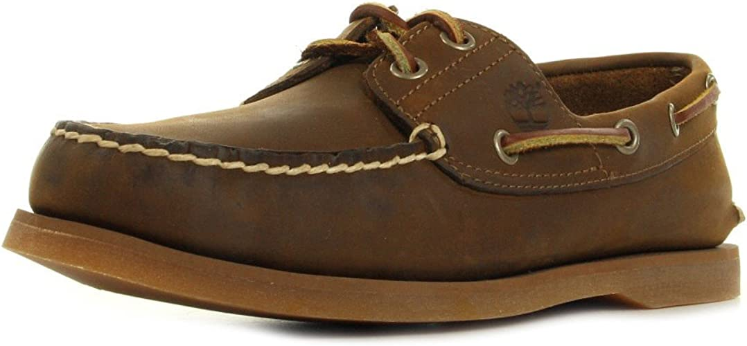 chaussure bateau hommes timberland
