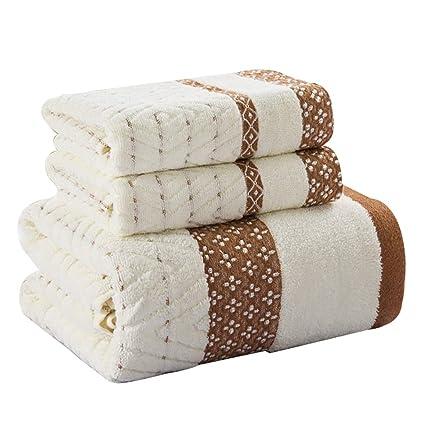Juegos de toallas Juego de toallas Pack-3 (1 toalla de baño y 2