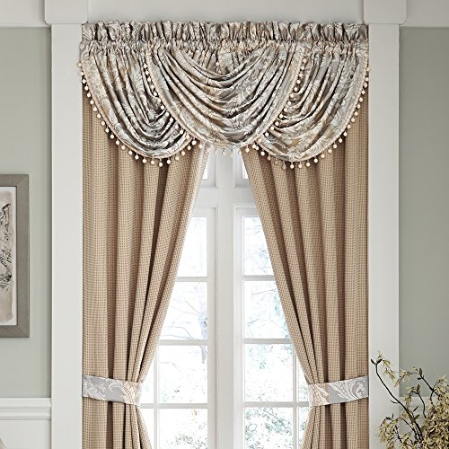Croscill Nathaniel Waterfall Swag 48X33 - Croscill Window Treatments