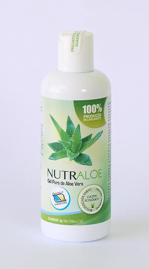 Nutraloe Gel puro de Aloe Vera 250ml: Amazon.es: Belleza