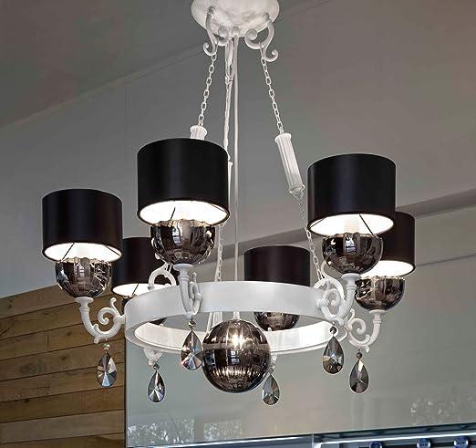 De colour blanco de la lámpara de la nuare Masiero hecho a mano, fabricado en