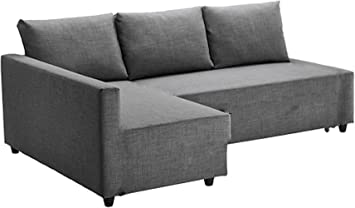 The Light Gray Friheten Thick Cotton Sofa Cover Replacement Is Custom Made For Ikea Friheten Sofa Bed Or Corner Or Sectional Slipcover Sofa Cover