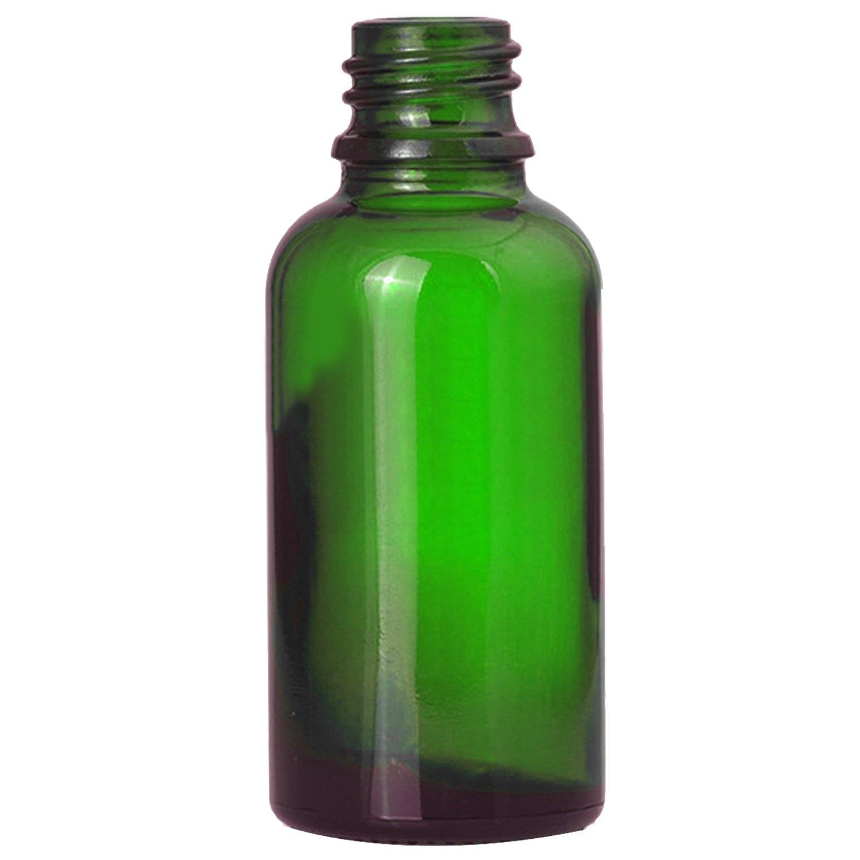 Vococal - 6 Piezas 50ml Vacía Recargable Vidrio Botella del Aerosol/Pulverizador de Perfumes/Spay de bruma para Aceites Esenciales y Otros Líquidos (Verde): ...