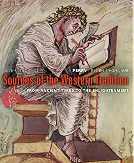 Amazon sources of the western tradition volume i from ancient sources of the western tradition volume one seventh edition fandeluxe Choice Image