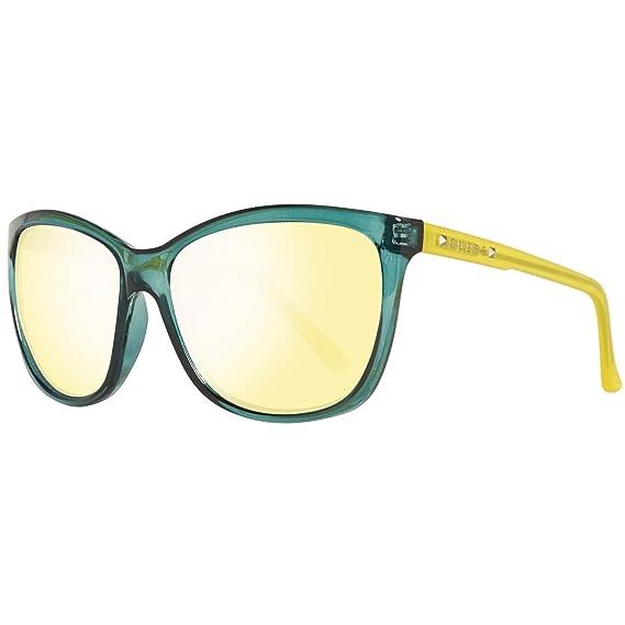 Guess Sonnenbrille Gu7308 S18 60 Gafas de Sol, Amarillo ...