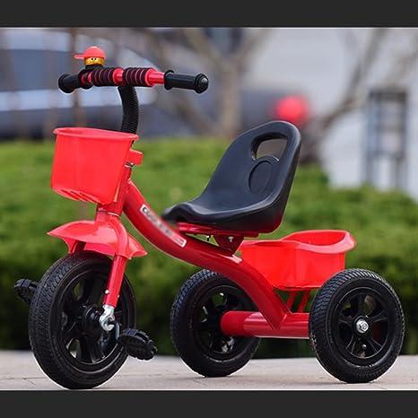 sheng Triciclo de niños Bicicleta de 2-6 años de edad carro de ...