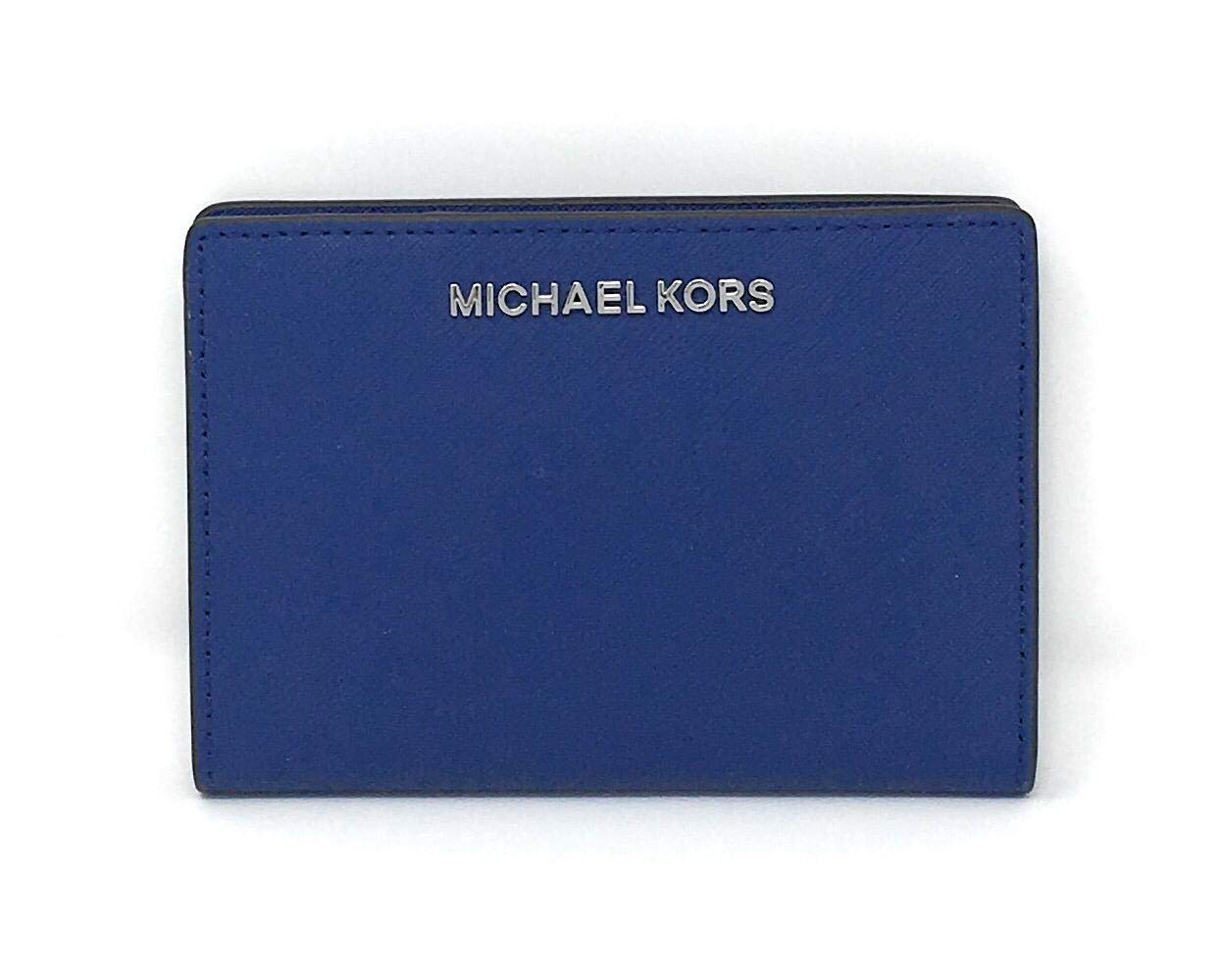 Michael Kors Carryall 2 in 1 Wallet With Card Case (Sapphire) by Michael Kors