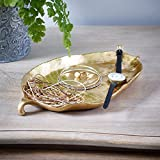 Gold Leaf Dish, an inexpensive way to add elegance to your room or occasion. Dimensions 26 x 15 x 3 cm by Tutti Decor