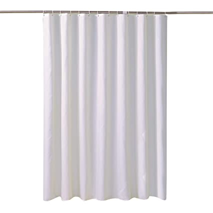 LansheFabric Shower Curtain Liner Waterproof Antibacterial Water Resistant Bathroom Set Mold