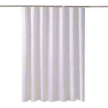 LansheFabric Shower Curtain Liner Waterproof Antibacterial Water Resistant Bathroom Set Mold
