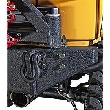 Body Armor 4x4 (JK-2395) Black Steel Rear Bumper with Adjustable Pin for Jeep Wrangler JK