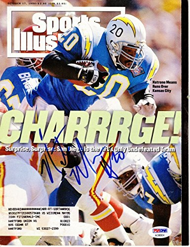 October 17 1994 Natrone Means San Diego Chargers Sports Illustrated B