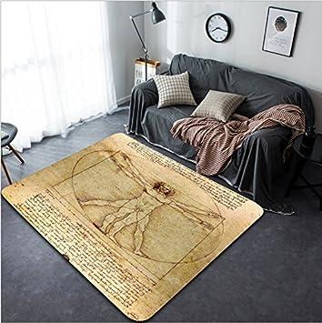 Amazon.de: vanfan Design Home Dekorative 25285753 Vitruvian ...