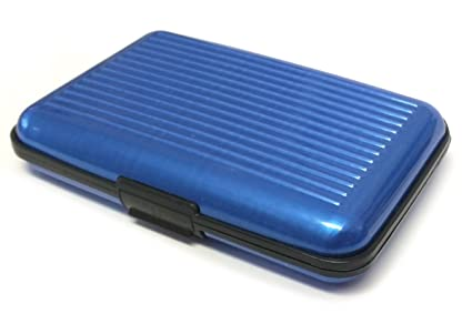 2c24c9fd65c9 Scansafe Aluminum Wallet Container RFID Certified (Blue)