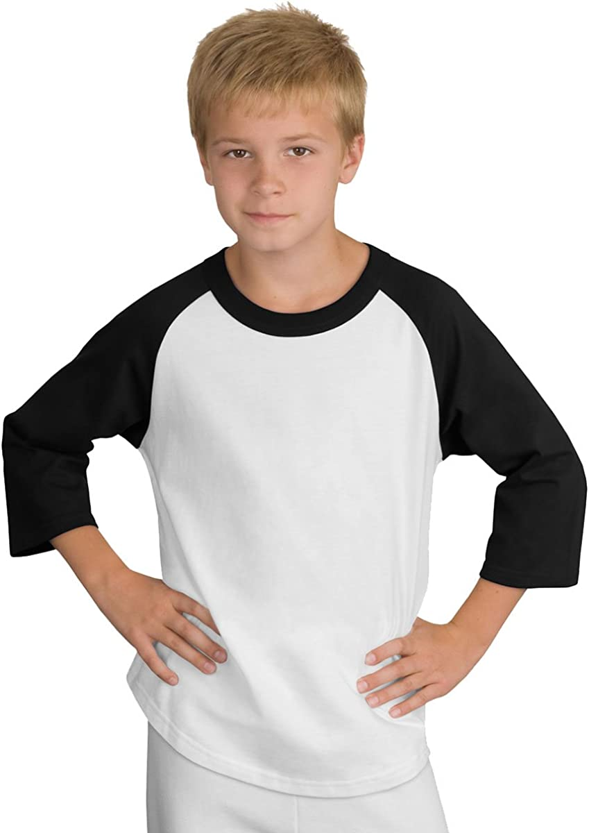 Youth Colorblock Raglan Jersey. Sport-Tek