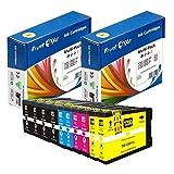 PrintOxe™ Compatible 10 Ink Cartridges for PGI-1200XL (Pigment Ink) 2 Sets + 2 BK; 4 BK 9183B001 , 2 Cyan 9196B001 , 2 Magenta 9197B001 & 2 Yellow 9198B001 High Yield PGI 1200 for Canon MAXIFY Printer Models MB2320 MB2020 MB2350 MB2050 MB2120 MB2720