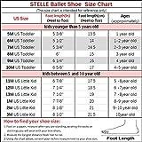 STELLE Girls Ballet Practice Shoes, Yoga Shoes