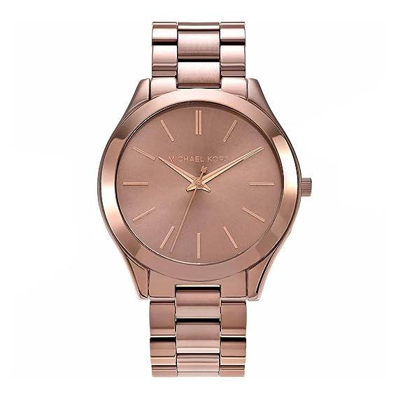 MICHAEL Michael Kors Reloj Analógico para Mujer de Cuarzo con Correa en Acero Inoxidable MK3418: Michael Kors: Amazon.es: Relojes