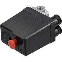 Winfred Drukschakelaar, compressor, AC 220 V 20 A, drukschakelaar, regelventiel, luchtcompressor voor snelle drukafbouw…