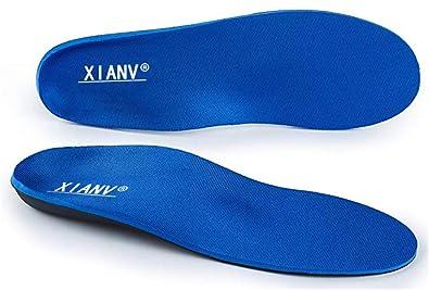 Active X5 neueste Generation Orthopädische Schuheinlagen Einlegesohlen gegen Knickfuß, Senkfuß, Plattfuß, Spreizfuß, metatarsalgie, Fußschmerzen und