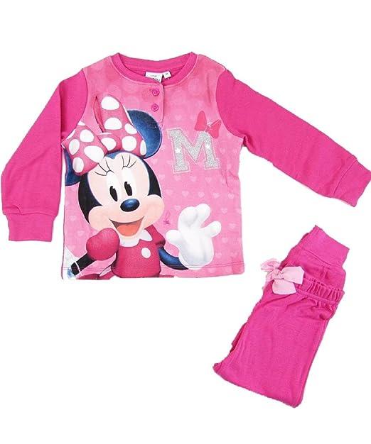 più amato 7b37c 0dfe3 Pigiama Bimba Disney Bambina Caldo Cotone Minnie Topolina PS ...