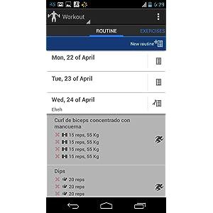 4Fitting Ejercicios fitness, dieta & musculación: Amazon.es: Appstore para Android