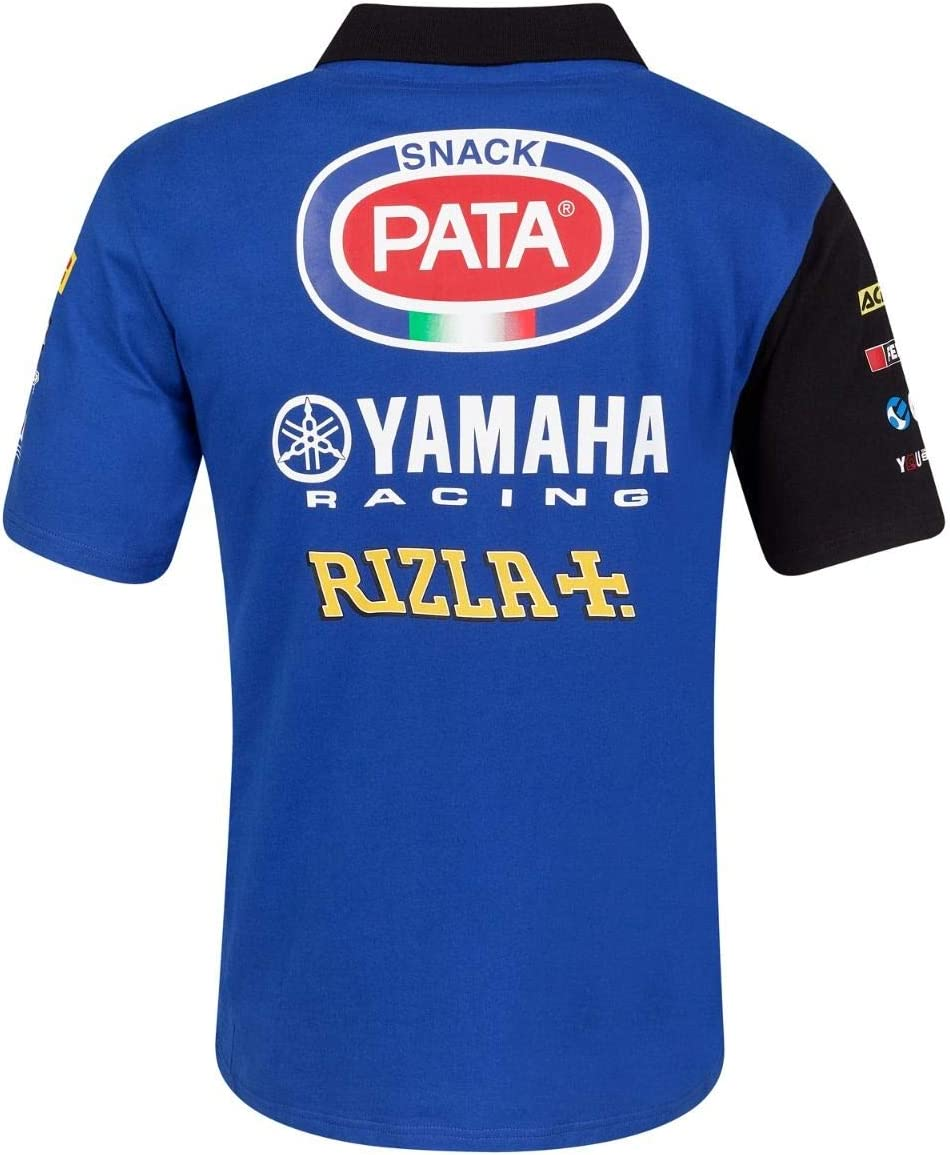 Maglietta Yamaha da paddock pitlain team corrente Yamalube M