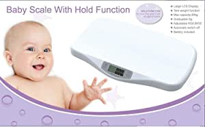 Digital Baby/Pet Scale with Hold Function - Up to 20KG