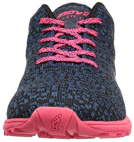 inov-8 Women's F-Lite 195 CL (W) Cross-Trainer-Shoes, Blue/Pink, 9.5 a US by inov-8 (Image #4)