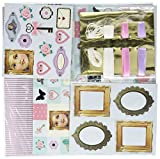 Frusen 108 pc Scrapbooking Kit with Assorted Motifs